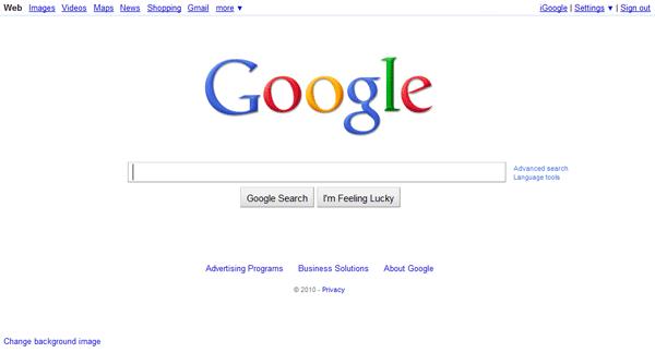 این است گوگل!