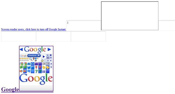 گوگل بدون سی اس اس