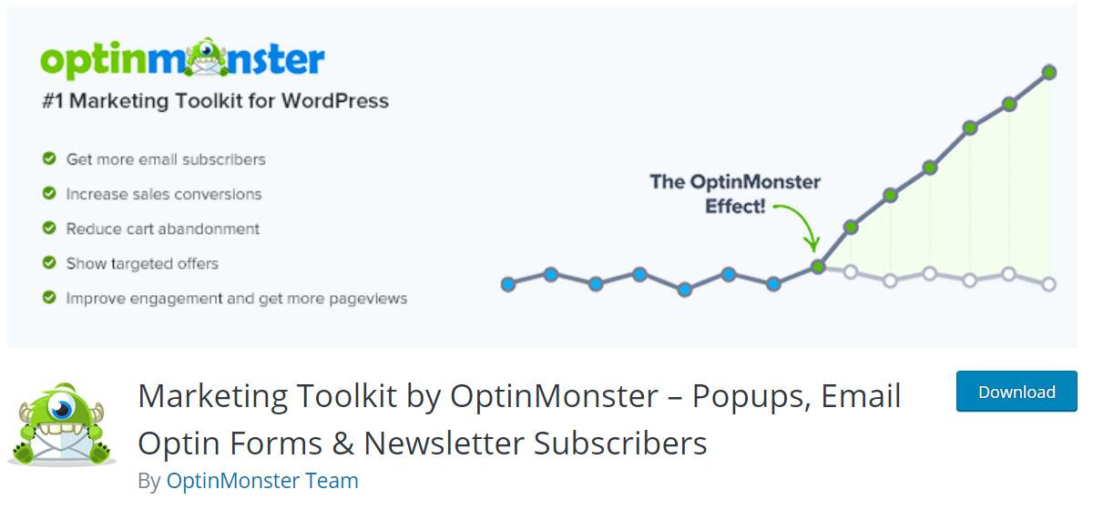 افزونه optin monster