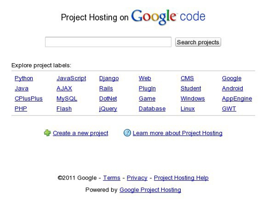 project-hosting