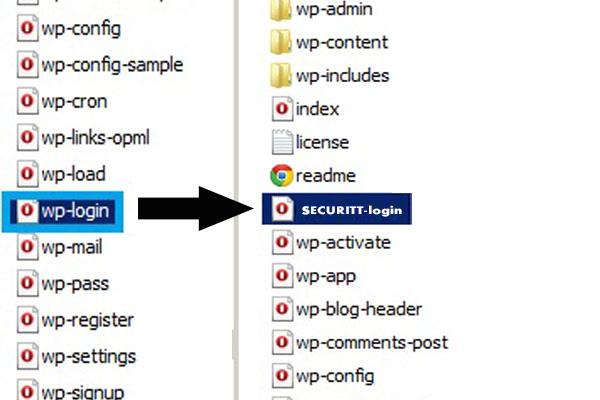 تغییر آدرس wp-admin