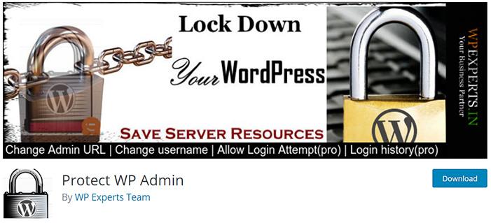 افزونه تغییر آدرس wp-admin