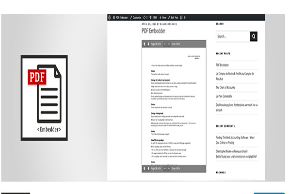 افزونه آپلود فایل pdf در وردپرس