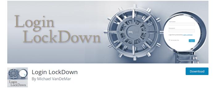 افزونه login lockdown plugin