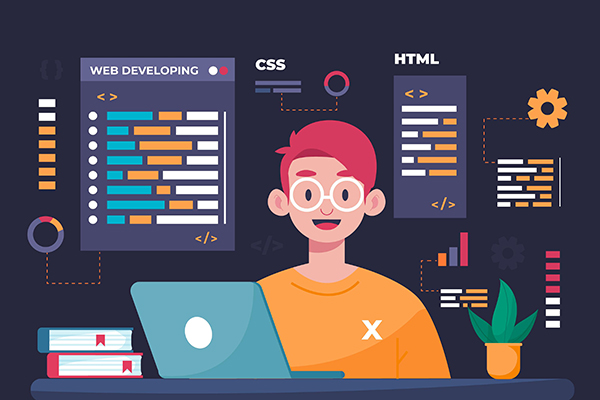 ارتباط css و html