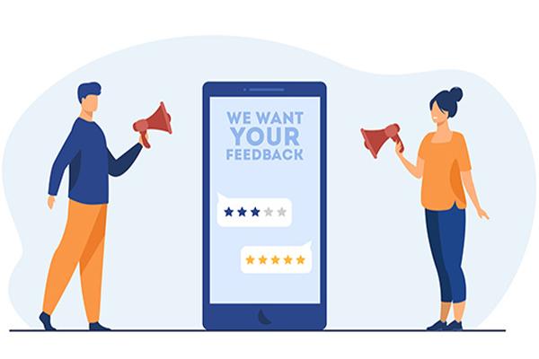 بازخورد مشتریان