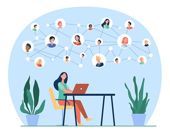روش های ایجاد جامعه مجازی