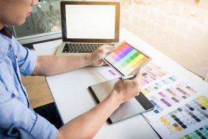 اهمیت رنگ در طراحی رابط کاربری