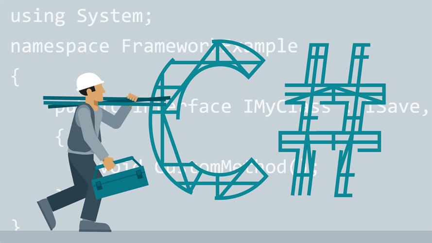 آموزش گام به گام زبان برنامه نویسی C# و تصویر یک کارگر