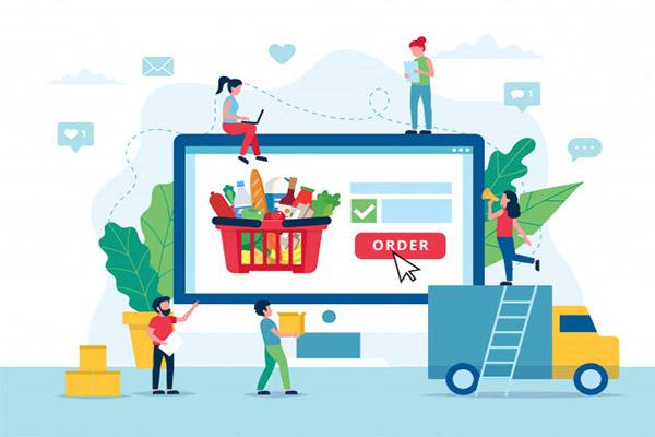 طراحی فروشکاه اینترنتی