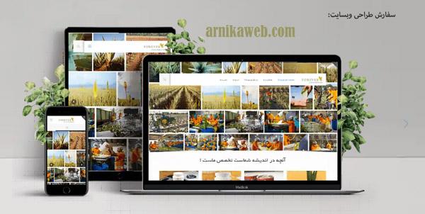 سفارش طراحی سایت و قالب وردپرس