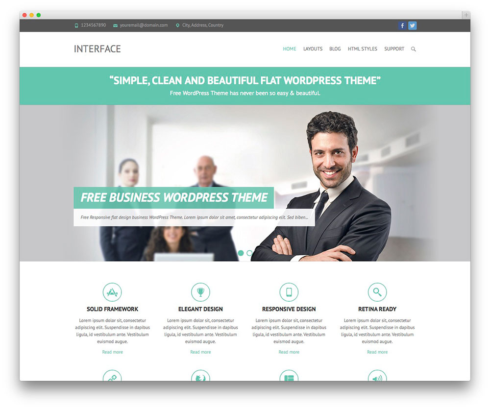 interface-best-business-theme